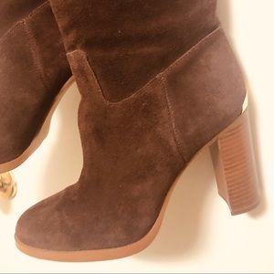 Michael Michael Kors Suede Knee High Boots